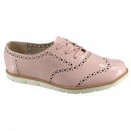 a39dcfd722 Sapato Feminino Moleca Oxford 5613.318 13488 53252 Rosa (Verniz Premium)