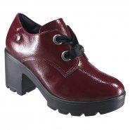 b2d078750 Sapato Feminino Oxford Quiz 69-69230 Bordo (Verniz Show)