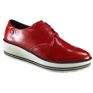 ca880f37a Sapato Feminino Quiz Oxford 68-58216 Vermelho (Verniz Show)