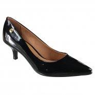 ab31d01545 Sapato Feminino Scarpin Vizzano 1122.628 13488 15745 Preto (Verniz Premium)