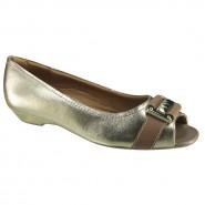68ed8d14f2 Sapatos - Comfortflex - Usaflex - Feminino - Modelo  Peep Toe (Bico ...