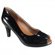 229b5fd62 Sapato Feminino Usaflex Peep Toe AA2501 5 Preto (Luxor)