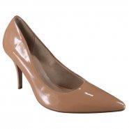 9eef6ccff Sapato Scarpin Beira Rio Conforto 4122.900 13488 52531 Nude (Verniz Premium)