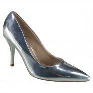 750b58f20fc41 Sapato Scarpin Feminino Beira Rio Conforto 4122.800 00041 Prata (Metal  Color)