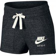 Shorts Feminino Nike Sportswear Vintage 883733-010 Preto Branco e975b3ffd99bb
