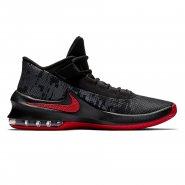 Tênis de Basquete Masculino Nike Air Max Infuriate 2 Mid AA7066-066 Preto  Vermelho 0dc0a992e1ece