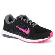 a31b5541bd Tênis Feminino Nike Wmns Dart 12 Msl 831539-006 Preto Rosa