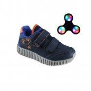 a820db132c5 Tênis Infantil Bouts Teen Spinner (Com Brinde) 33006-2225 Marinho Laranja