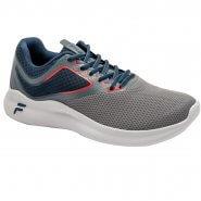 452c687e47c Tênis Masculino Footwear Fila Furia 11J637X-065 Grafite Marinho Vermelho