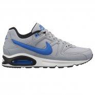 833e8a92b7a15 Tênis Masculino Nike Air Max Command 629993-036 Cinza Azul