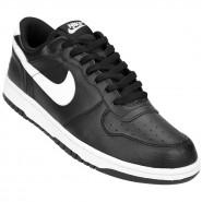 Tênis Masculino Nike Big Low 355152-016 Preto Branco 4ed83f26866ea