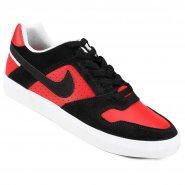 9a611c940c5 Tênis Masculino Nike SB Delta Force Vulc 942237-006 Preto Vermelho