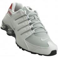 69bf19dec0b Tênis Masculino Nike Shox NZ SE 833579-102 Branco