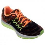 8f51c0289378b Tenis Nike Air Zoom Vomero 10 717440-803 Laranja Preto Verde