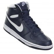 796b2bec97f Tênis Nike Big High 336608-410 Marinho Branco
