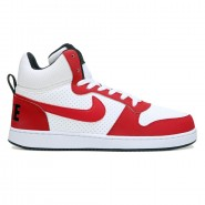 569ebe12363 Tênis Nike Court Borough 838938-101 Branco Vermelho