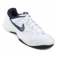 Tênis Nike Court Lite 845021-180 Branco Marinho 22f8376a9710d