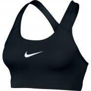 Top Esportivo Nike Classic Swoosh Suporte Médio 842398-010 Preto Branco 3ff012d264184
