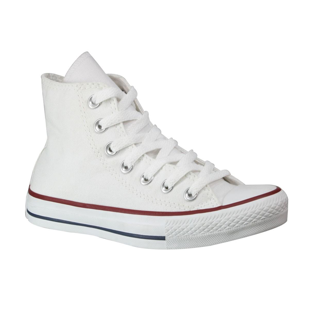 Tênis All Star Converse Chuck Taylor Monochrome Hi CT0004.0001 Branco 90b4337dbb02a