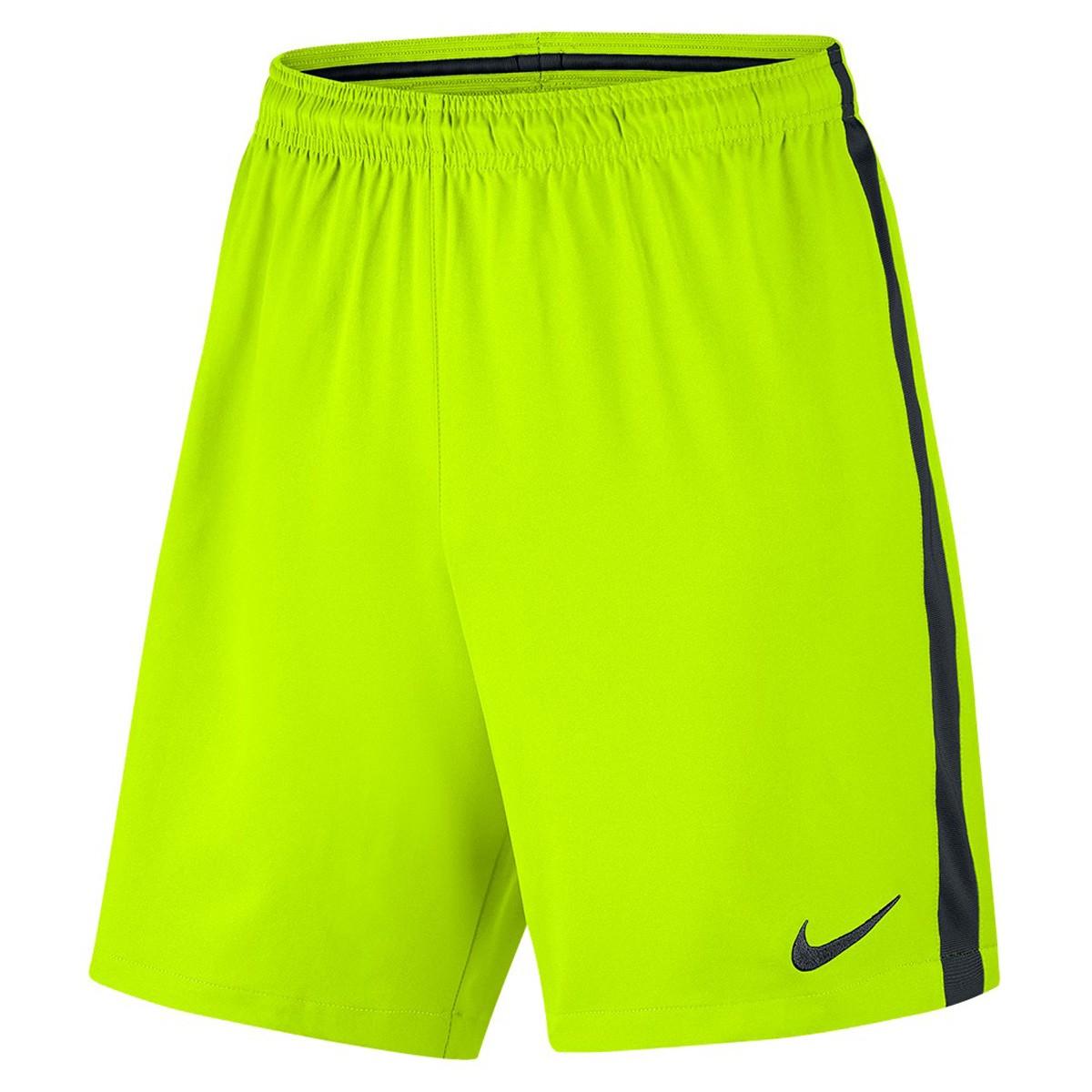 d5206826b9 Bermuda Masculina Nike Dry Squad 807682-702 - Verde Limão - Calçados ...
