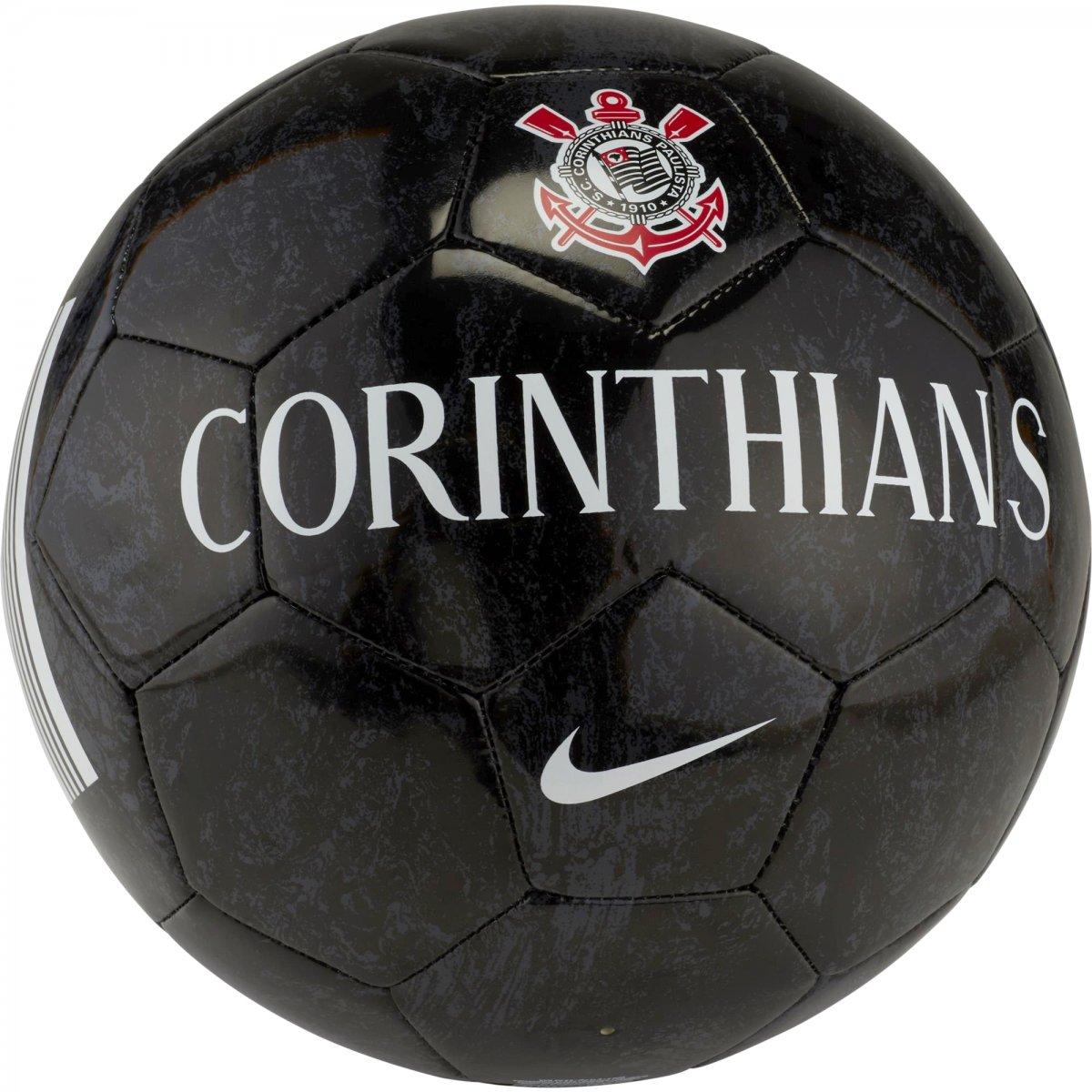 c67378bb5a Bola Campo Nike Corinthians Supporter SC3301-060 - Preto - Calçados ...