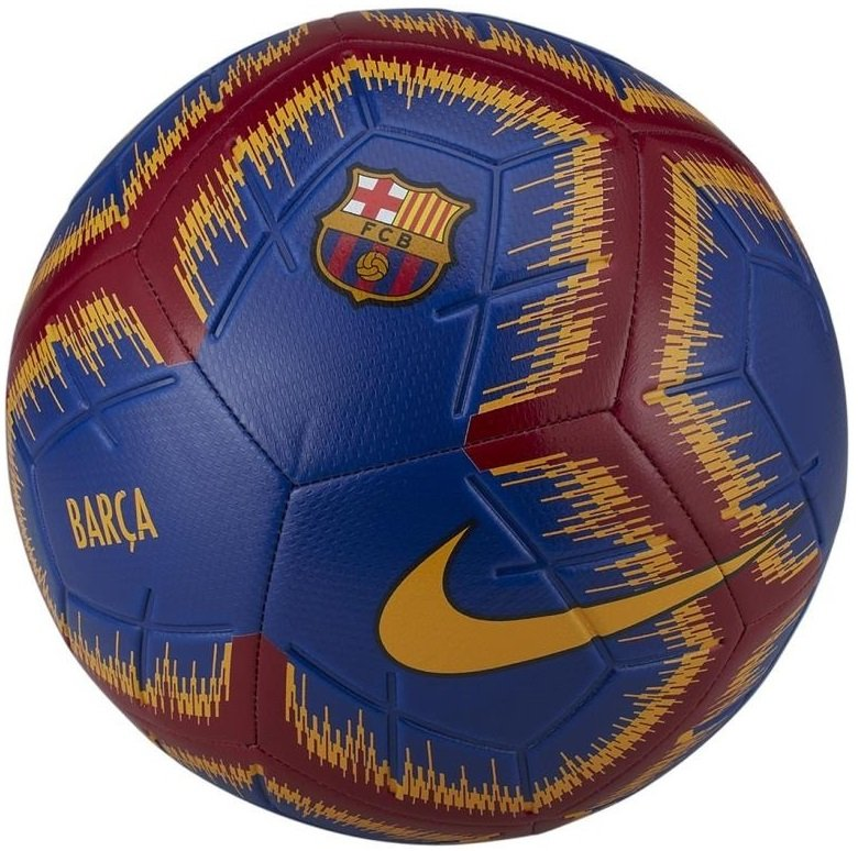 5e860bb39b Bola Campo Nike FC Barcelona Strike SC3365-455 - Marinho Vermelho ...