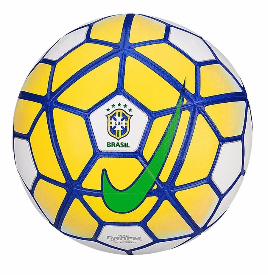 cefc31ca4a Bola Campo Nike Ordem 3 CBF SC2807-100 - Branco Azul Amarelo ...