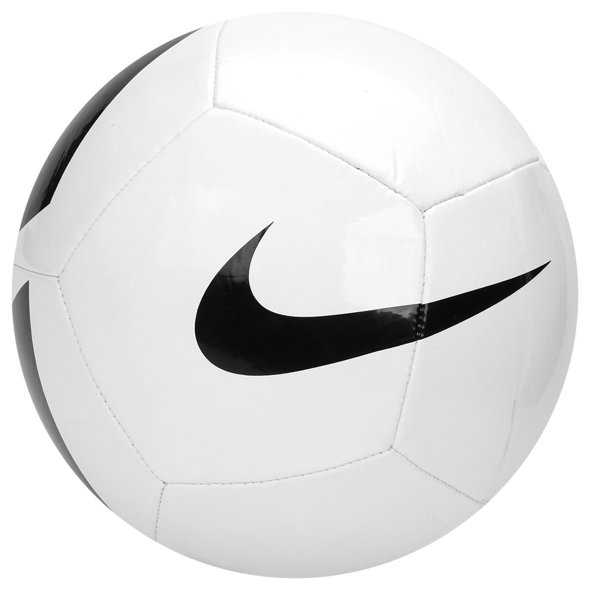 18ff071c39 Bola Campo Nike Pitch Team SC3166-100 Branco Preto
