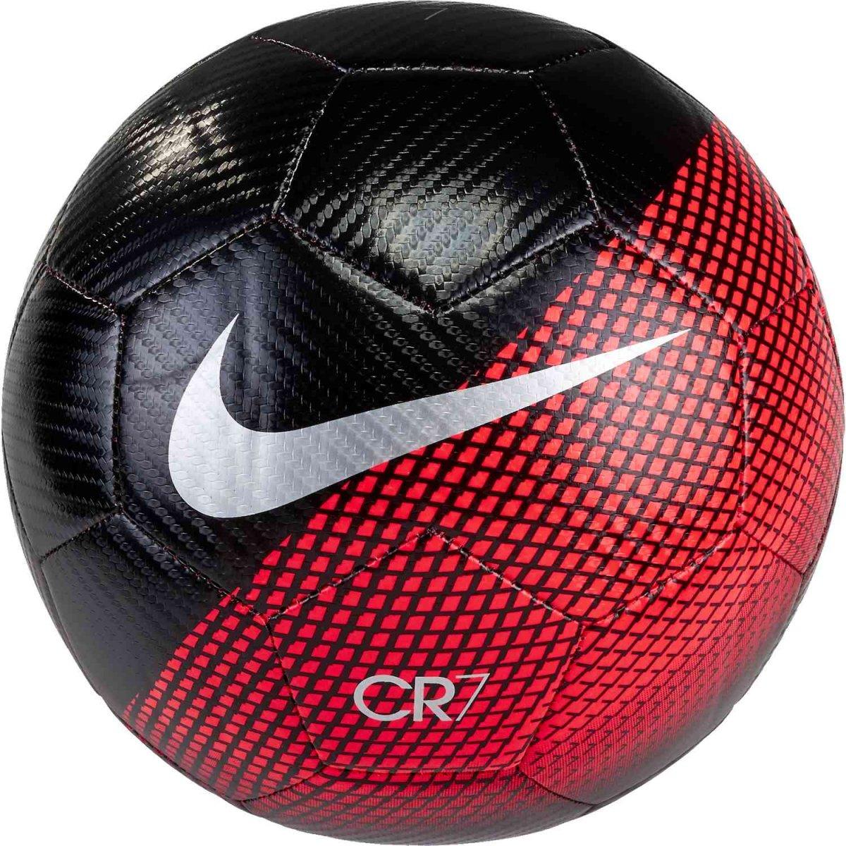 Bola Campo Nike Prestige CR7 Mercurial SC3370-010 - Preto Coral ... cf090c8f41176