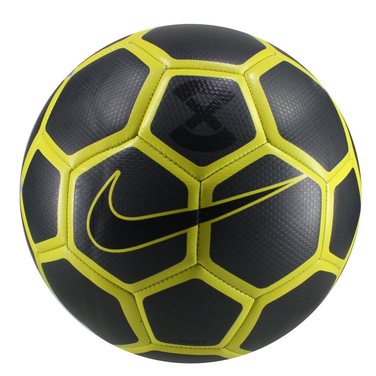 db2417935a Bola Campo Nike Strike X SC3506-060 - Preto Amarelo - Calçados ...