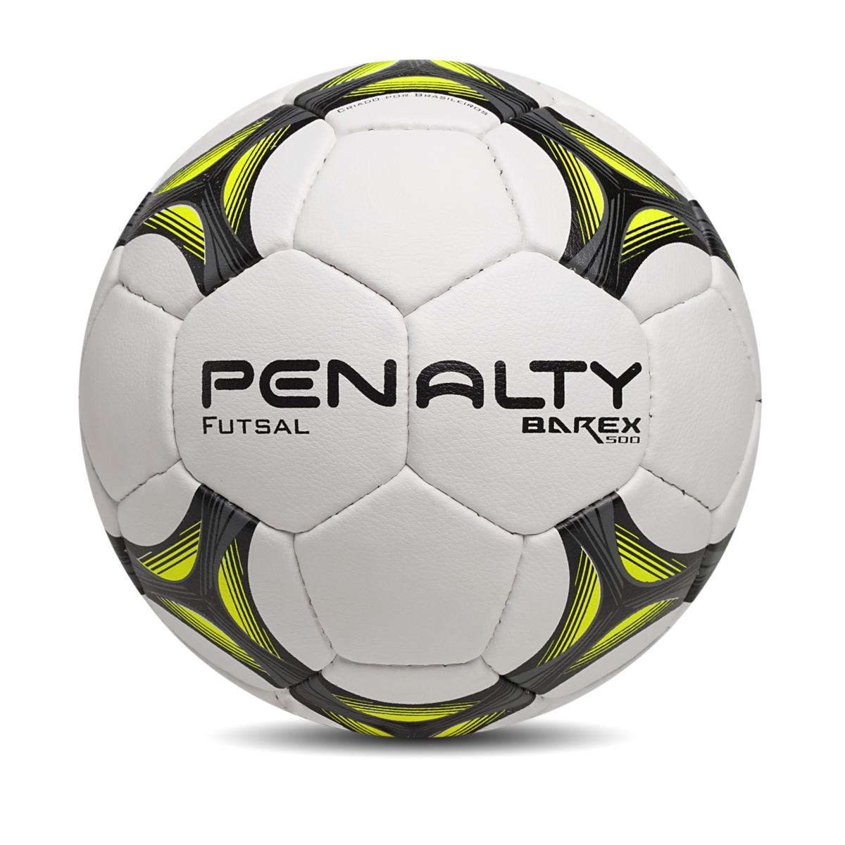 062be92fff Bola Futsal Penalty Barex 500 510836-1875 Branco Verde Limão