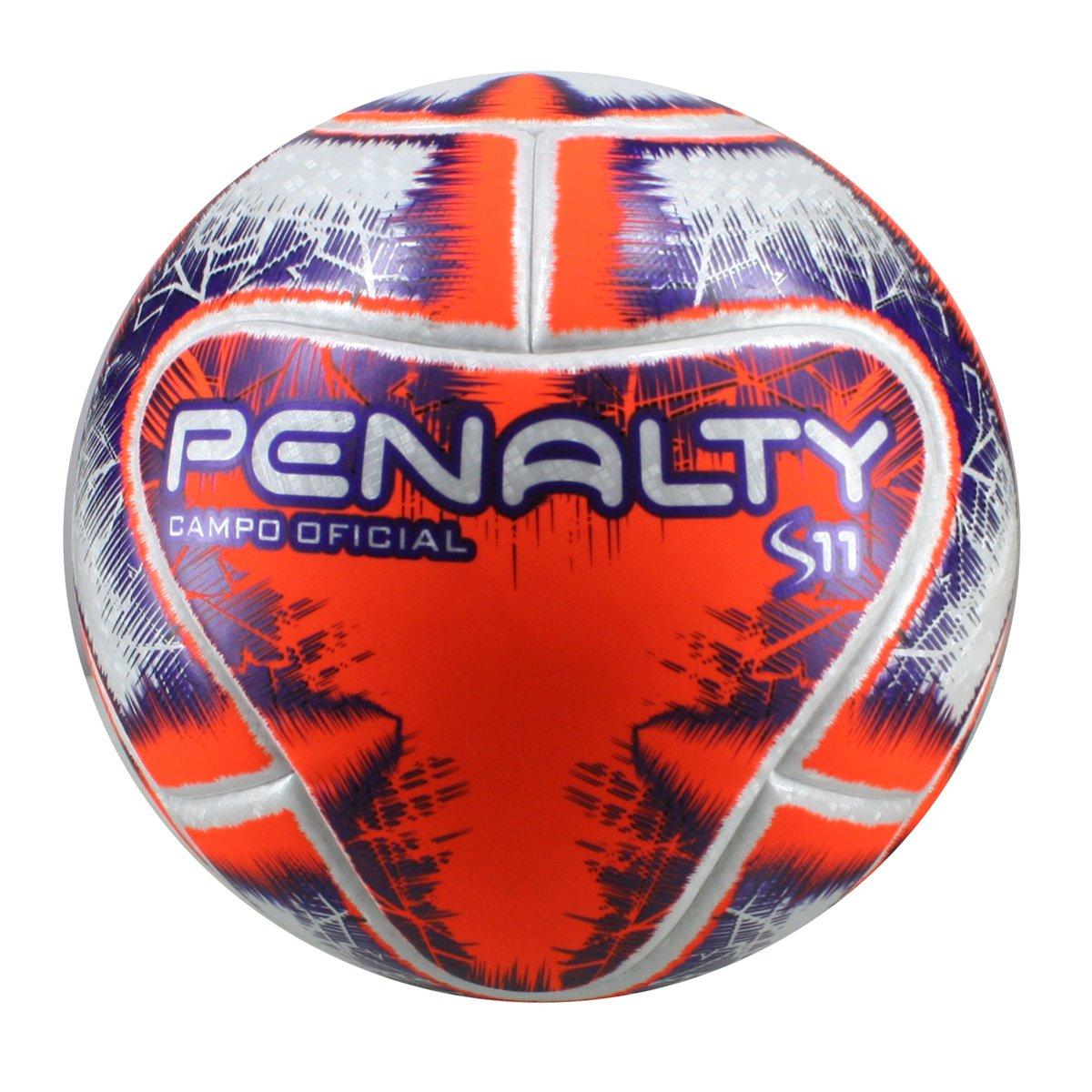 Bola Penalty Campo Oficial S11 R1 IX Gauchão 2019 541542-1712  Branco Laranja  a04bffc19d6cd
