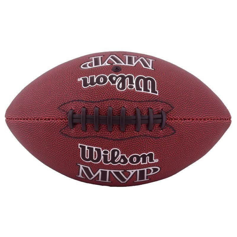 Bola Wilson Futebol Americano MVP WTF1409XB - Marrom - Calçados ... d03b55b8e16f8