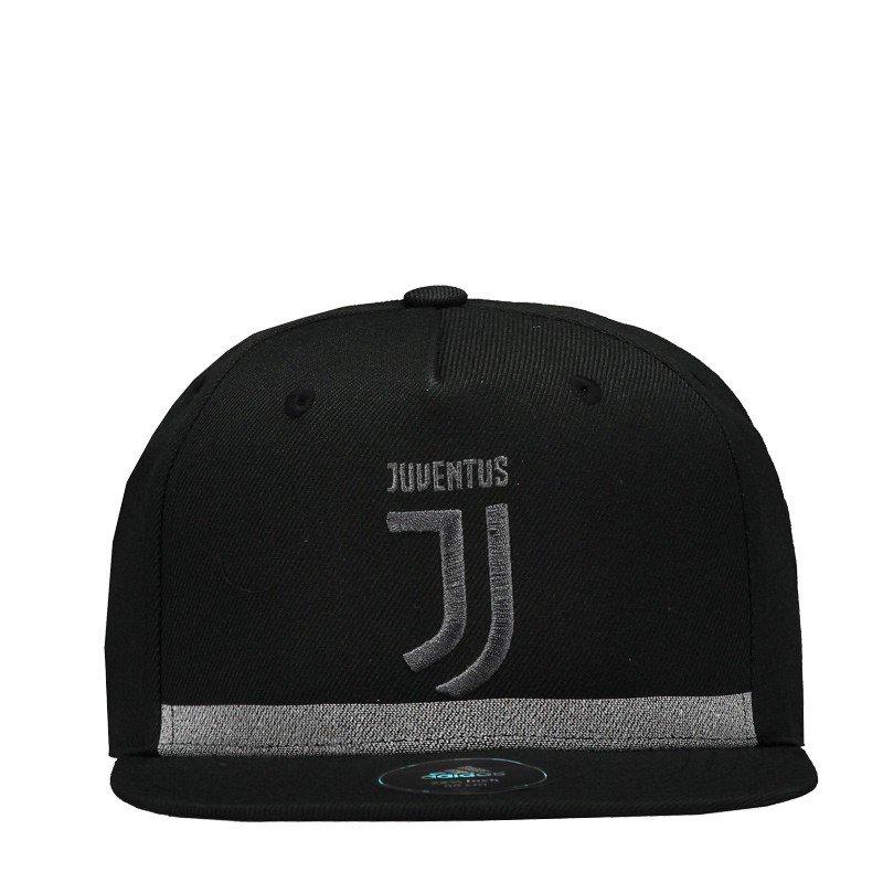Boné Adidas Juventus Aba Reta BR7007 - Preto Cinza - Calçados Online ... 645ffe30a08
