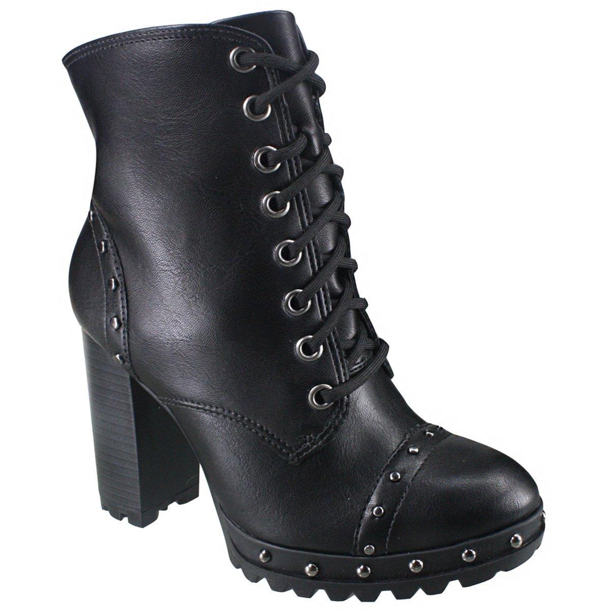 efb2715563d7 Bota Ankle Boot Ramarim 18-53104 - Preto (Naturale Plus) - Calçados ...