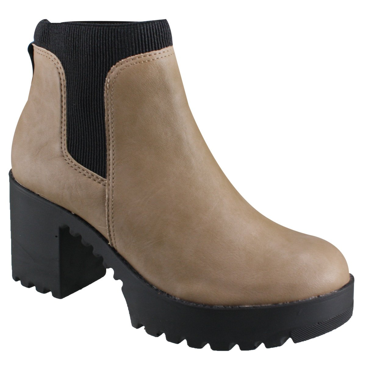 8d51380e98 Bota Cravo e Canela Ankle Boot 150007-2 - Fendi Preto (Nappa Rustic ...