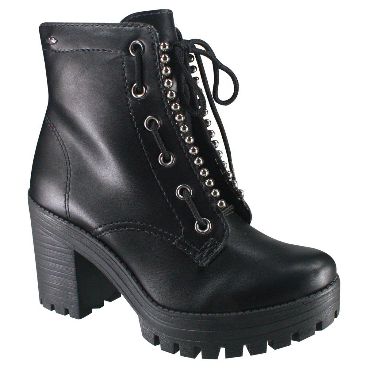 6f2daf3a1 Bota Feminina Coturno Dakota G0122 0001 - Preto (Argan) - Calçados ...