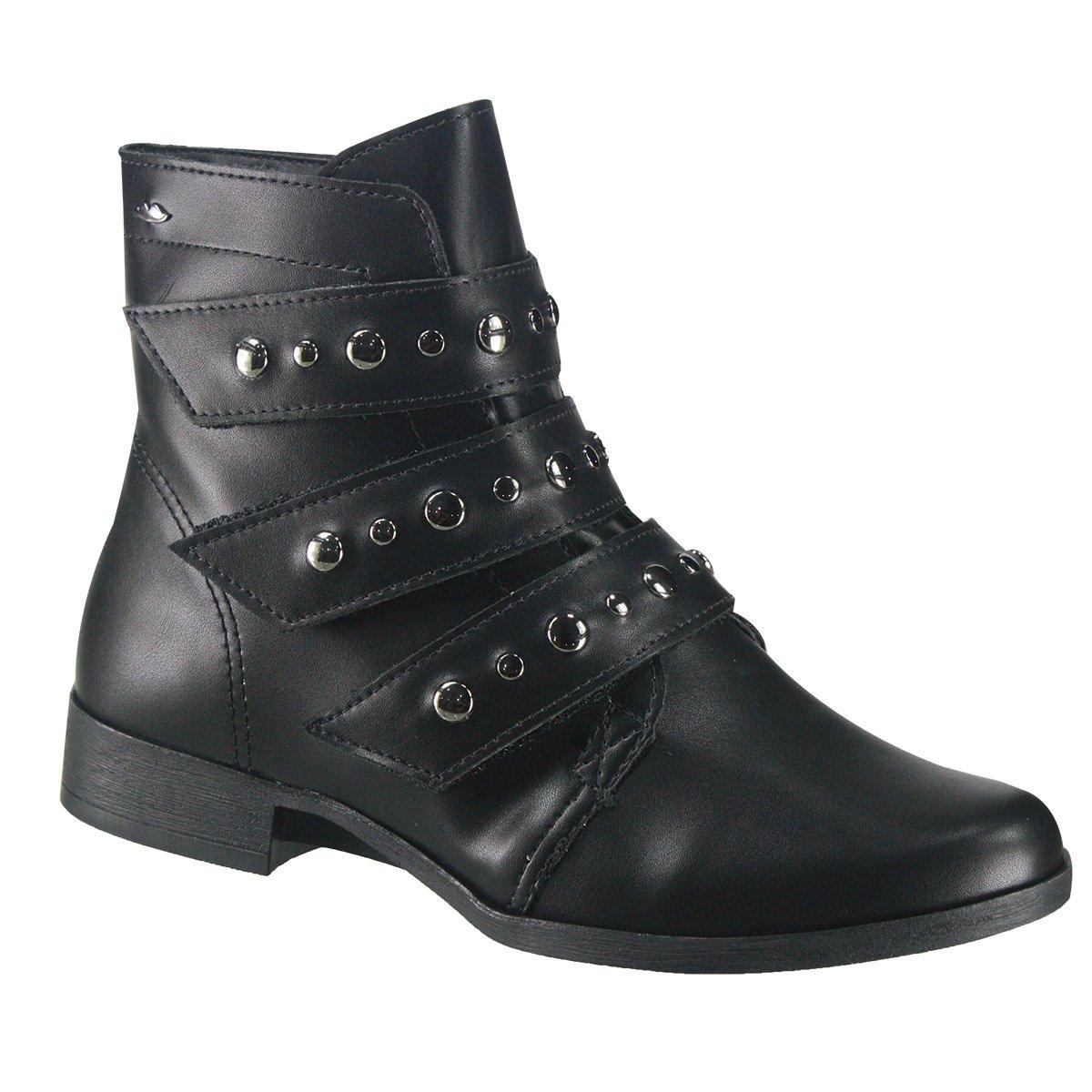 0a2918464e Bota Feminina Dakota Coturno B9892 0001 - Preto (Argan) - Calçados ...