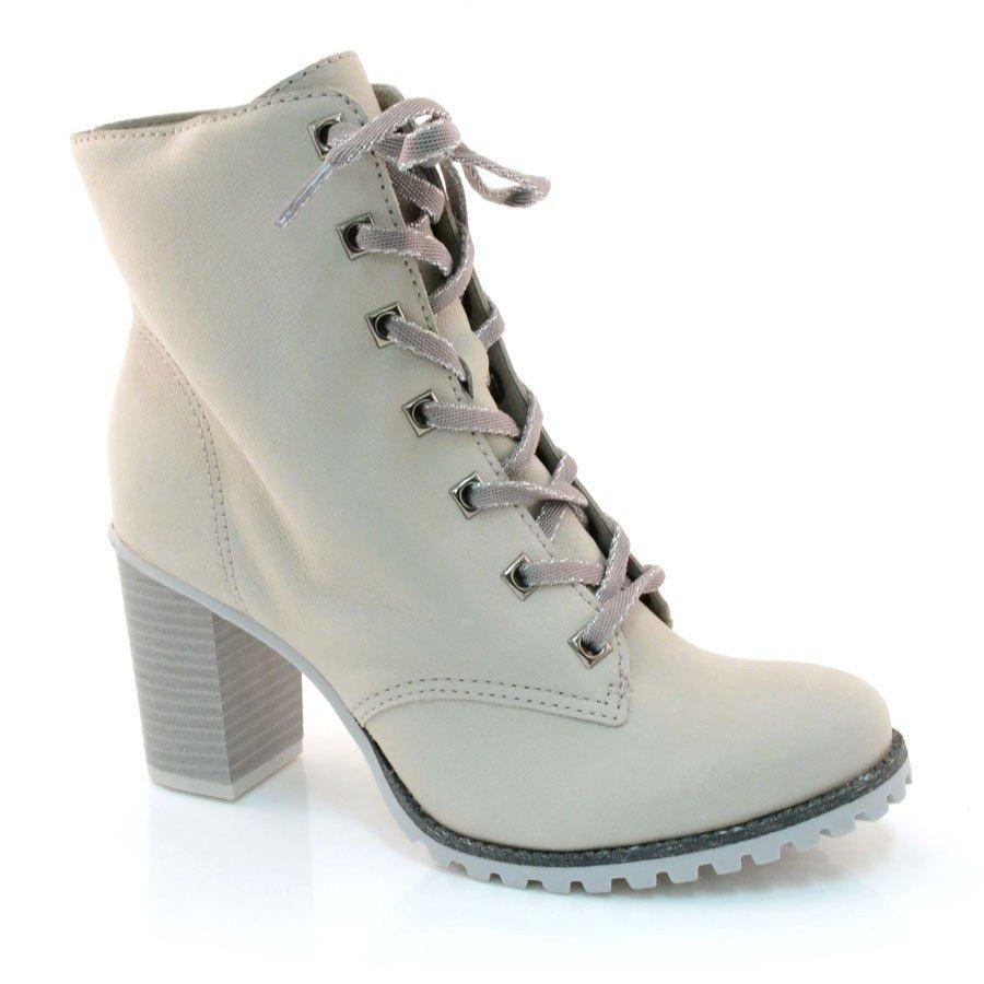 b6af1c1f90 Bota Feminina Tanara Coturno T1362 0005 - Silver (Parma) - Calçados ...