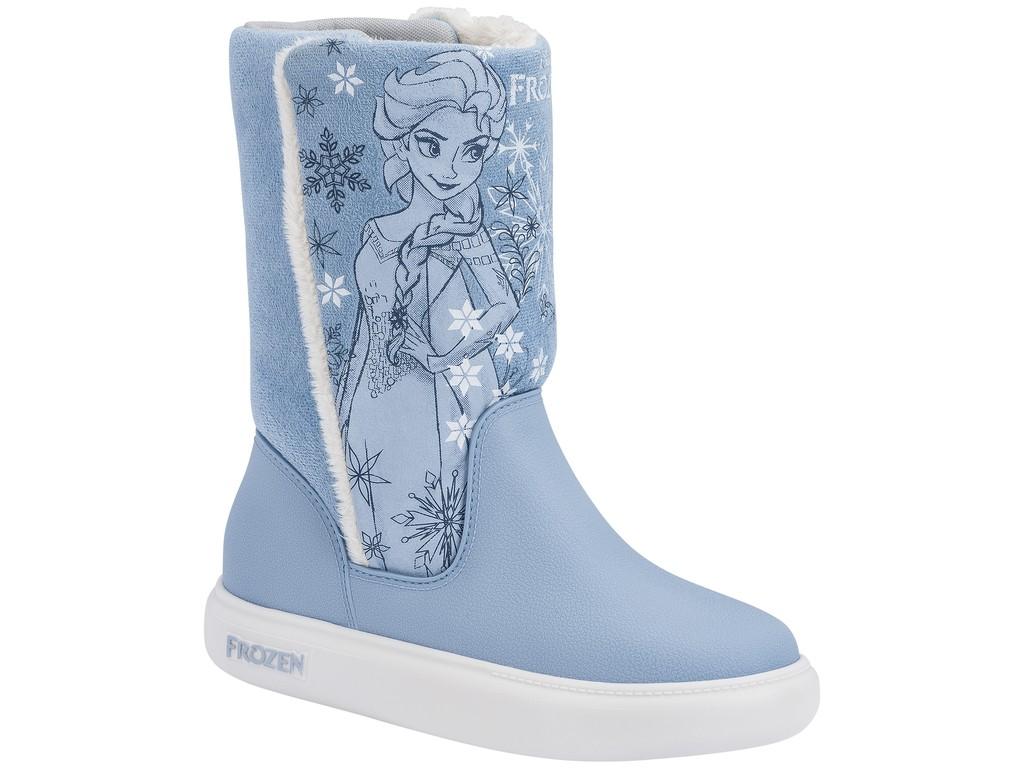 2accde61889 Bota Infantil Grendene Frozen Snowland 21565 50553 - Azul Branco ...