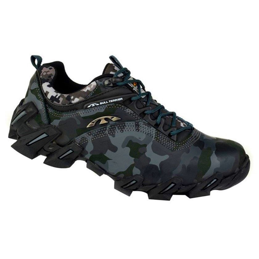 6127212f33 Tênis Adventure Masculino Bull Terrier Havoc Low Havoc Low Camuflado Chumbo