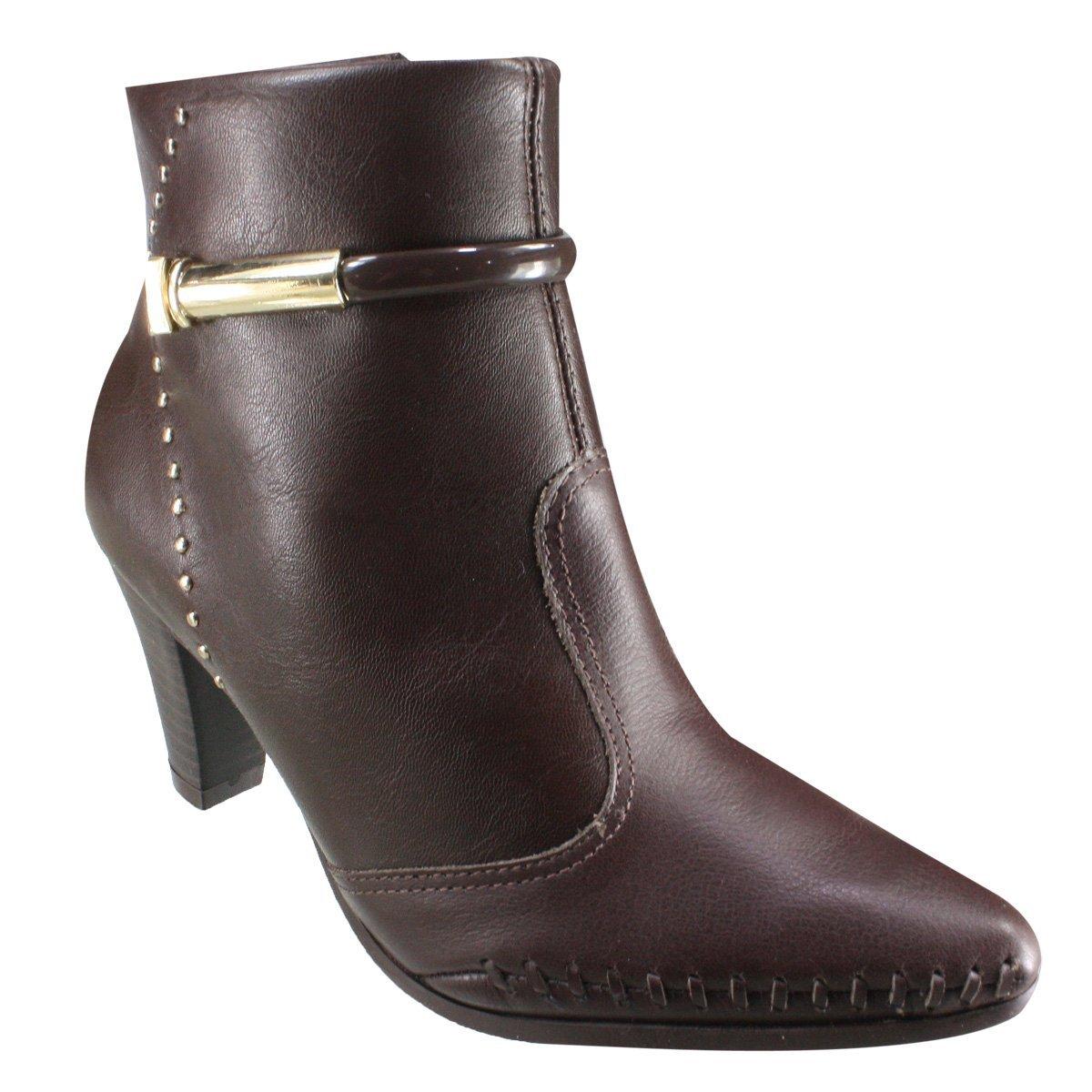 8a535c828 Bota Ramarim Ankle Boot 18-15101 000002 - Brown (Naturale Soft ...