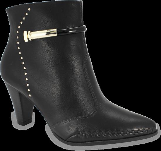 98a0554b6 Bota Ramarim Ankle Boot 18-15101 000001 - Preto (Naturale Soft ...
