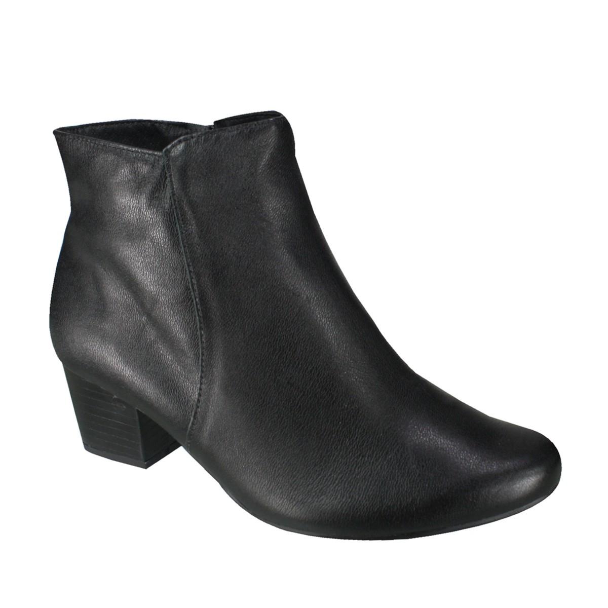 29dac1e4f5d Bota Usaflex Ankle Boot Q6621 41 Preto (Caprina)