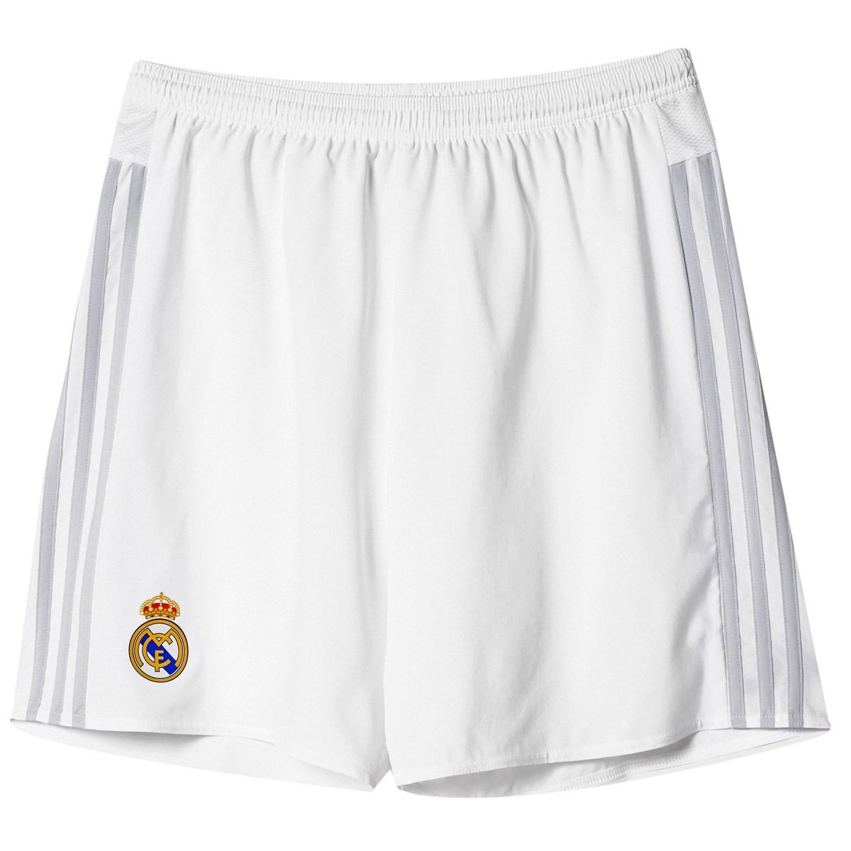 2cb6855b7d Calção de Futebol Adidas Real Madrid I S18149 - Branco - Calçados ...