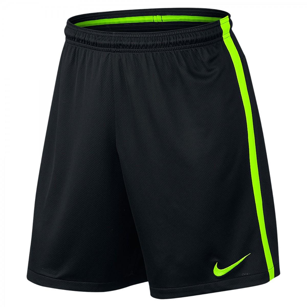 Calção de Futebol Masculino Nike Squad 807670-013 Preto Verde e31fa34f81c6e