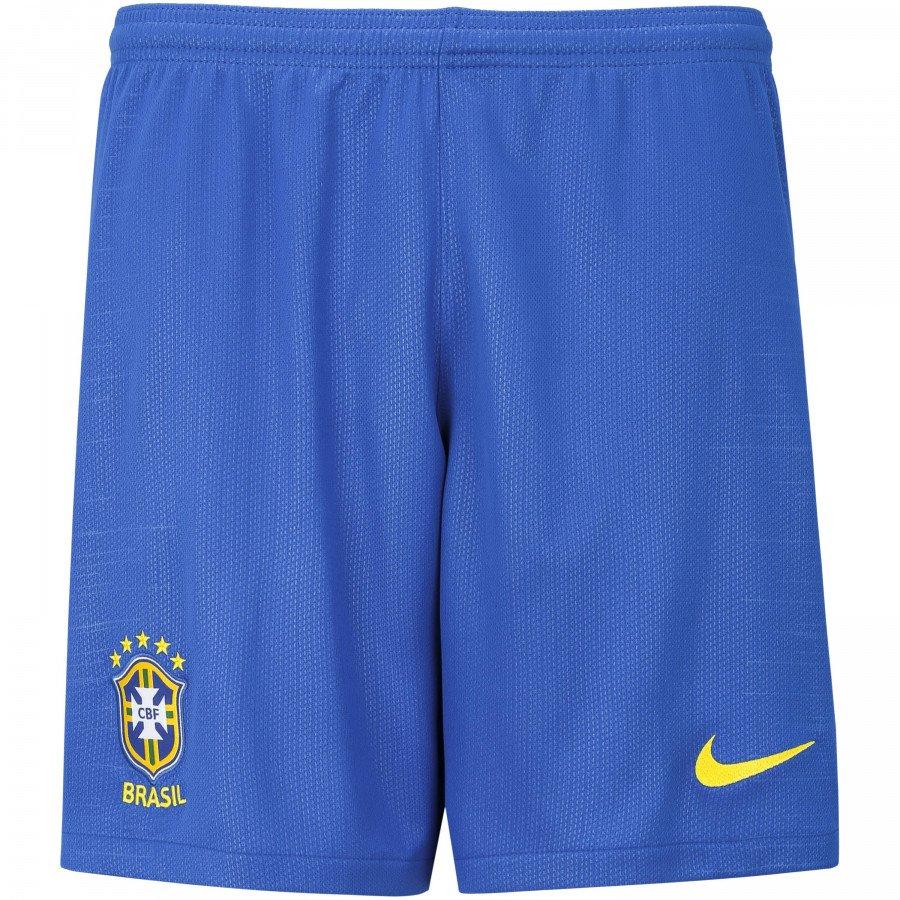 79dcc0cab4 Calção de Futebol Nike Seleção Brasileira 893920-453 - Azul ...