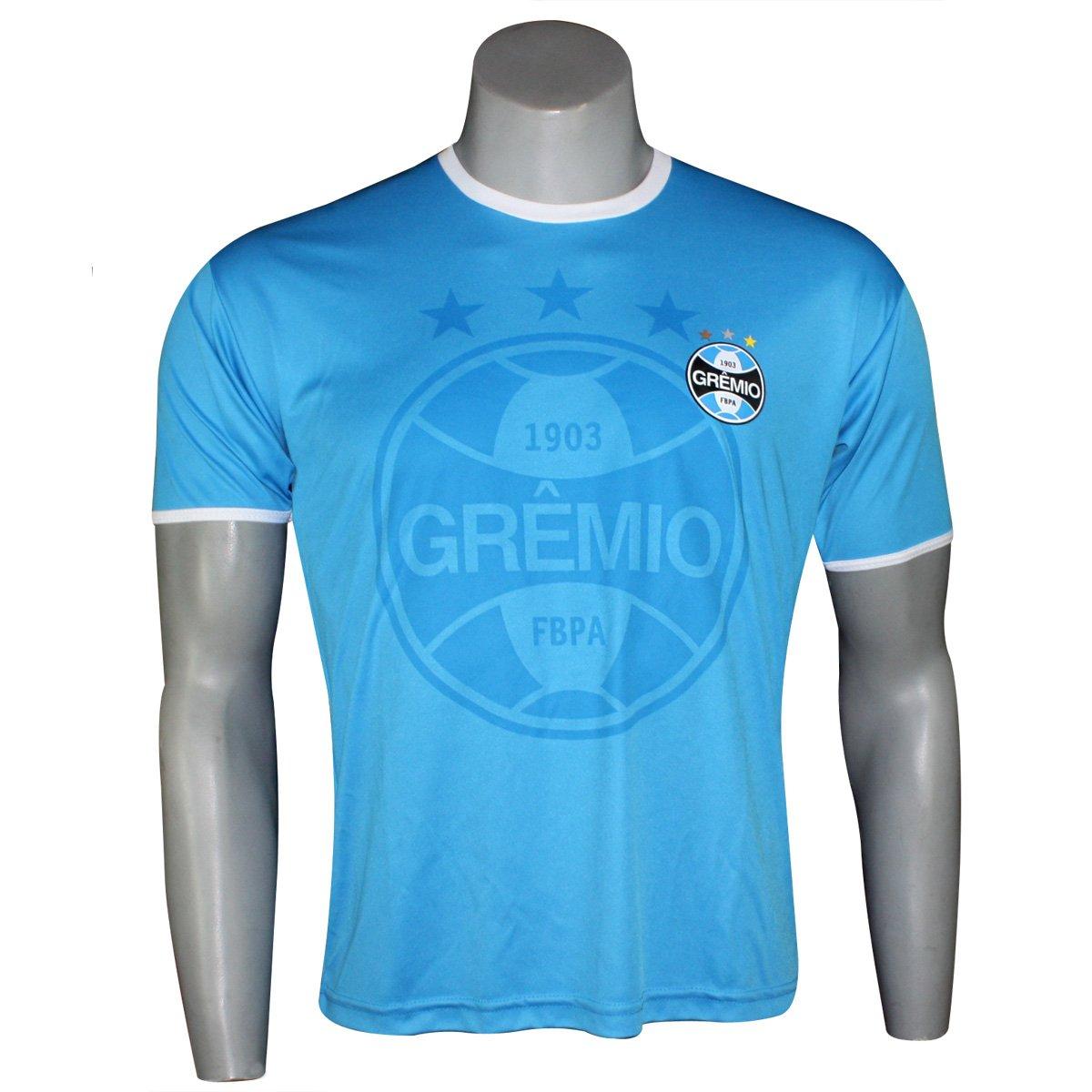 dc49e960cd Camisa Masculina Dilva Oldoni Grêmio G568 Celeste