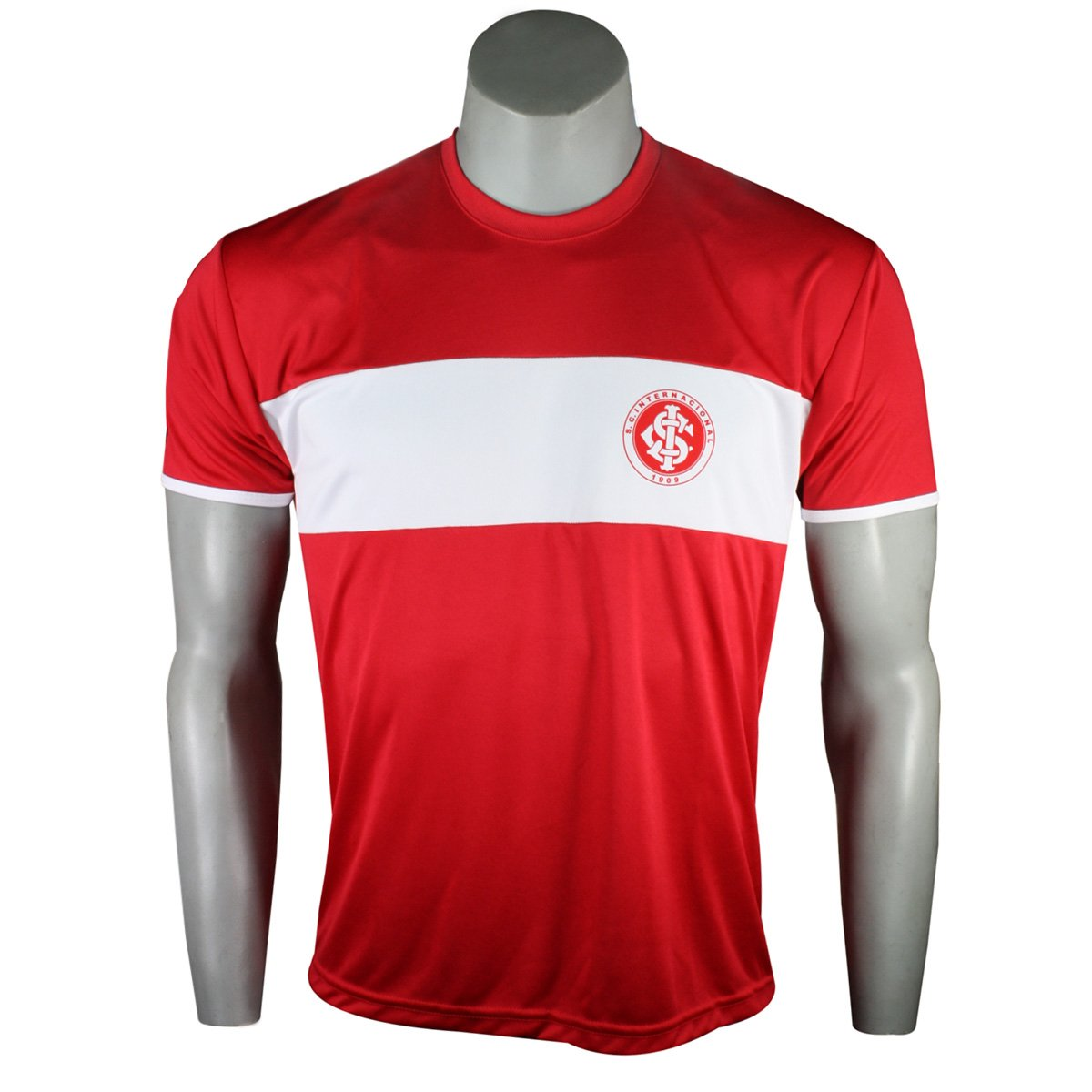 e238779d2a0c6 Camisa Masculina Inter Dilva Oldoni INT437 Vermelho Branco
