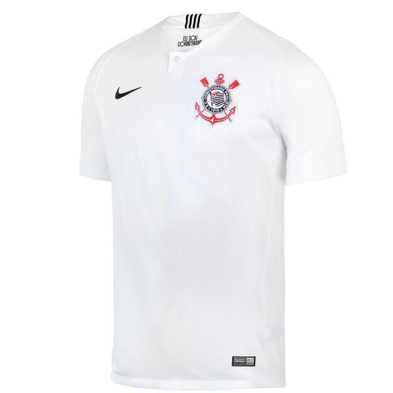 Camisa Masculina Nike SC Corinthians 2018 19 894434-100 - Branco ... c25928e6a8bc0